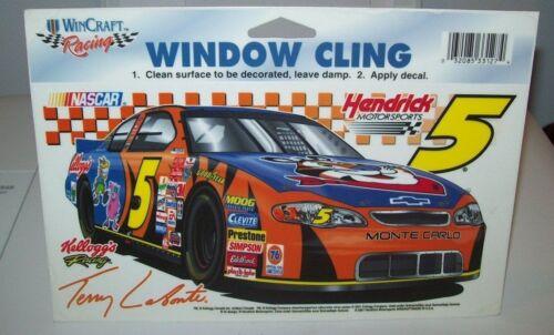 TERRY LABONTE #5 KELLOGG/'S WINCRAFT RACING WINDOW CLING