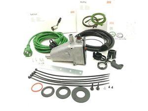 DEFA 411729 Engine Heater +60°C THERMOSTAT 1500W 230V +Cable Set 460787 5m +1,5m