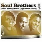 3 CD BOX SOUL BROTHERS JAMES BROWN MARVIN GAYE BROOK BENTON