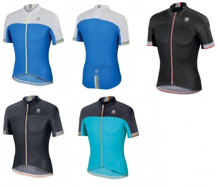 Sportful Bodyfit Pro Race Jersey Fahrradtrikot mit DryPro + Taschen - 1101311