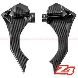 Details About 2015 2019 R1 R1s Front Dash Air Intake Ram Cover Panel Fairing Cowl Carbon Fiber