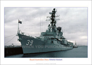 HMAS-HOBART-39-ROYAL-AUSTRALIAN-NAVY-A3-POSTER-PRINT-PICTURE-PHOTO-IMAGE