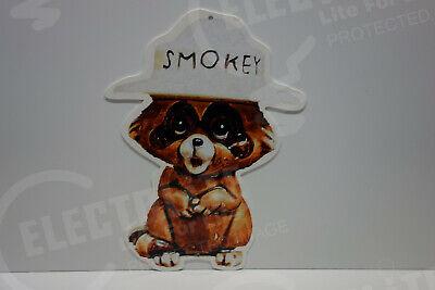 "SMOKEY BEAR 1//8/"" METAL HEAVY ENAMEL JOIN SMOKEY/'S CAMPAIGN 12/"" DIAMETER"