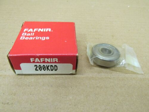 NIB FAFNIR 200KDD 200 KDD BALL BEARING METAL SEALED 6200 ZZ  10x30x9 mm