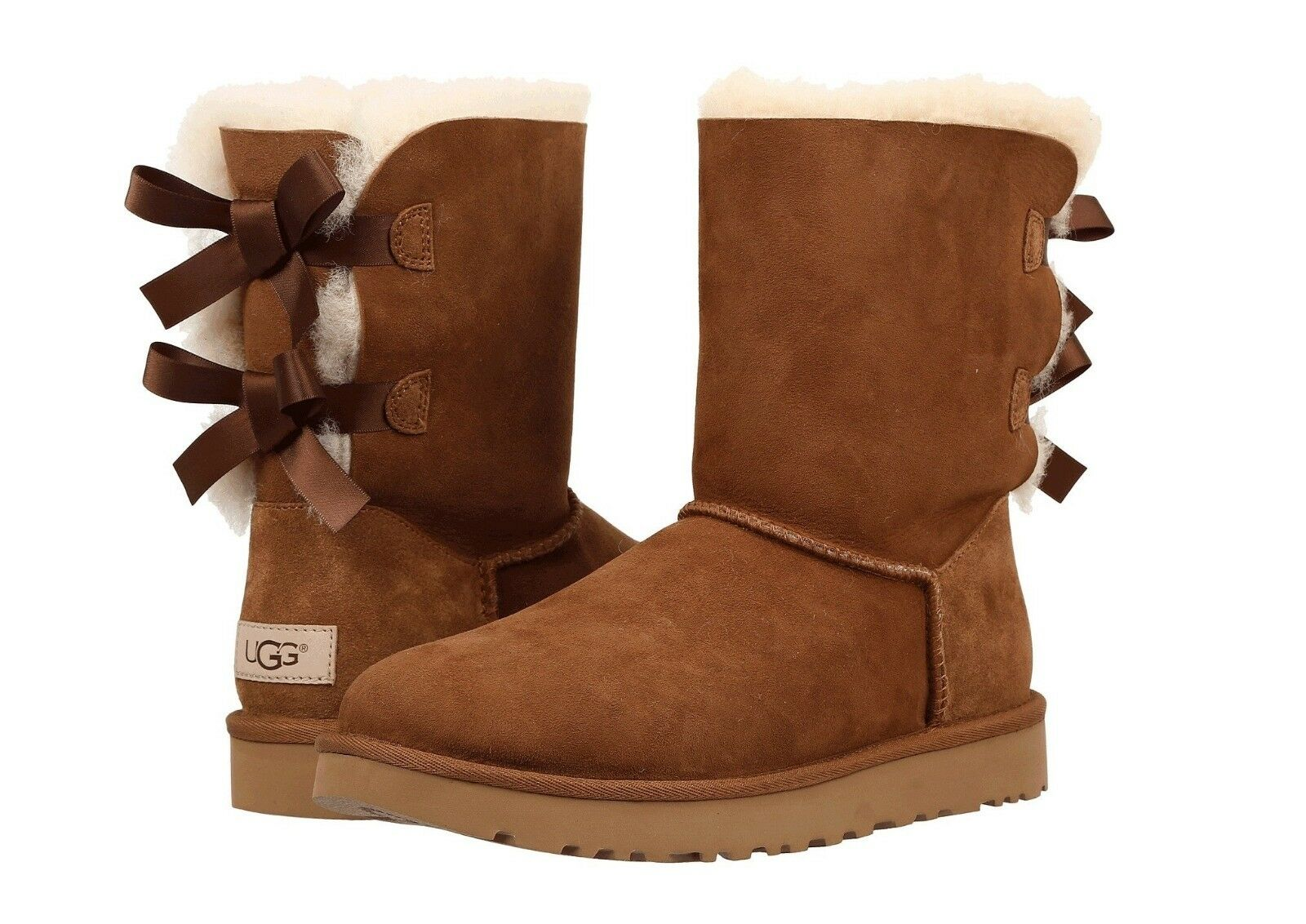 Women`s Winter Boots. Shoes UGG Gray Stock Photo Image of
