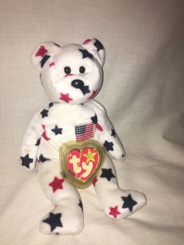 1997 Glory the Bear Ty Beanie Baby in Good Condition!