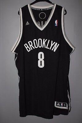 NBA BROOKLYN NETS BASKETBALL SHIRT JERSEY ADIDAS DERON WILLIAMS #8 | eBay