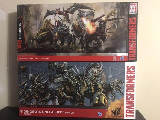 Transformers Age of Extincion Platinum Dinobots Unleashed # SLUG Loose