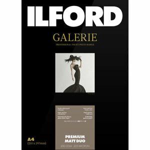 Ilford GALERIE Prestige Premium Matt Duo DIN A4, 50 Blatt, GPMD, 200 g/qm