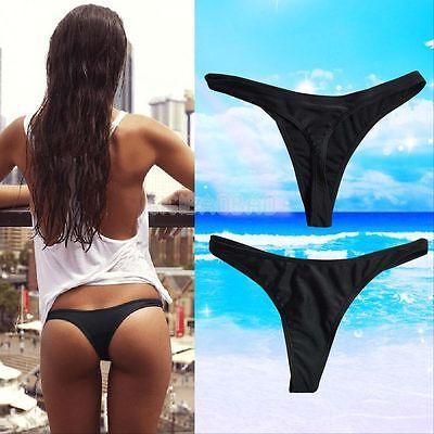 Sexy Women Brazilian Bikini Swimwear Beach Suit T-Back G-String Thong Bottom HOT