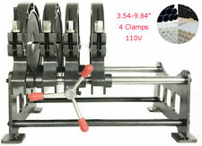 Heavy Duty 4 Clamp Pipe Fusion Welder Butt Fushion Welding Machine354 984 Hot