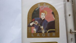 OLD-AUSTRALIAN-BEER-LABEL-EUMUNDI-BREWERY-QLD-1990s-JO-JOS-LAGER