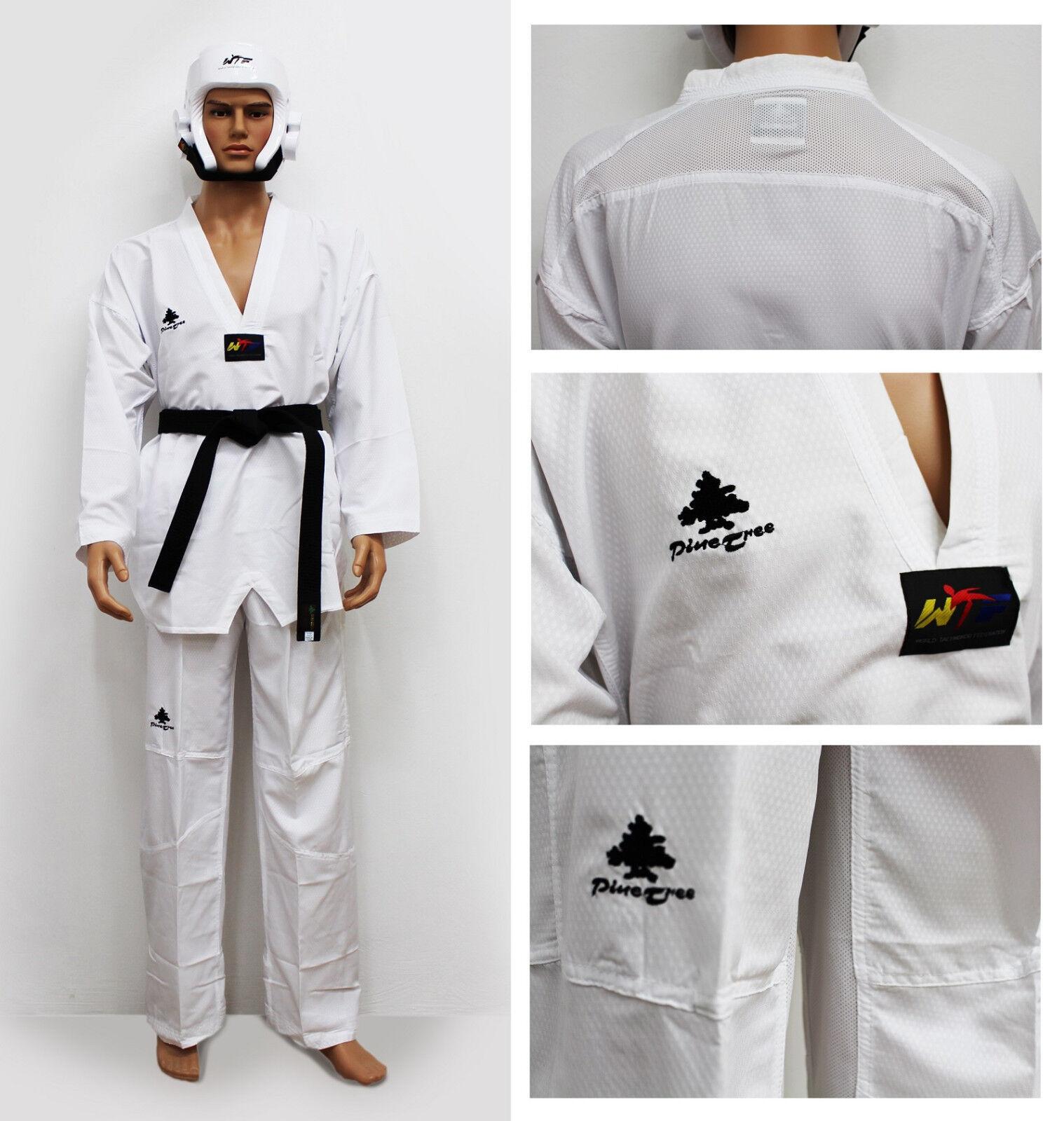 Professionale Taekwondo Judogi Ultralight Misto Materiale Tkd Completo