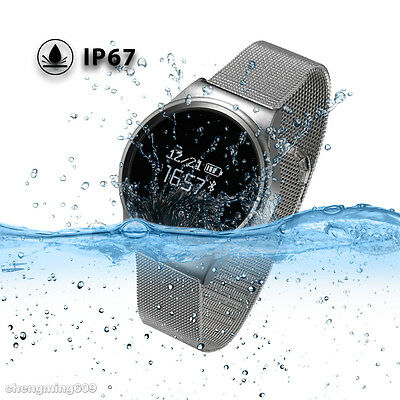 Wrist Smart Watch Phone Mate Bluetooth Waterproof For Android iPhone Samsung IOS