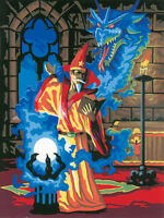 Paint By Number Kit Sorcerer Wizard