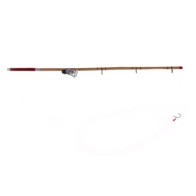 1:12 Miniature Fishing Pole Gear Wooden Hook Reel Sport Dollhouse Fairy Toyss!