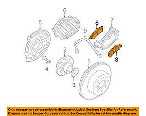 image is loading gm-oem-brake-rear-disc-brake-pads-18045936