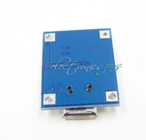 5 stücke 5V Micro USB 1A Li-ion Batterie Ladekarte Ladegerät Modul Micro USB AHS