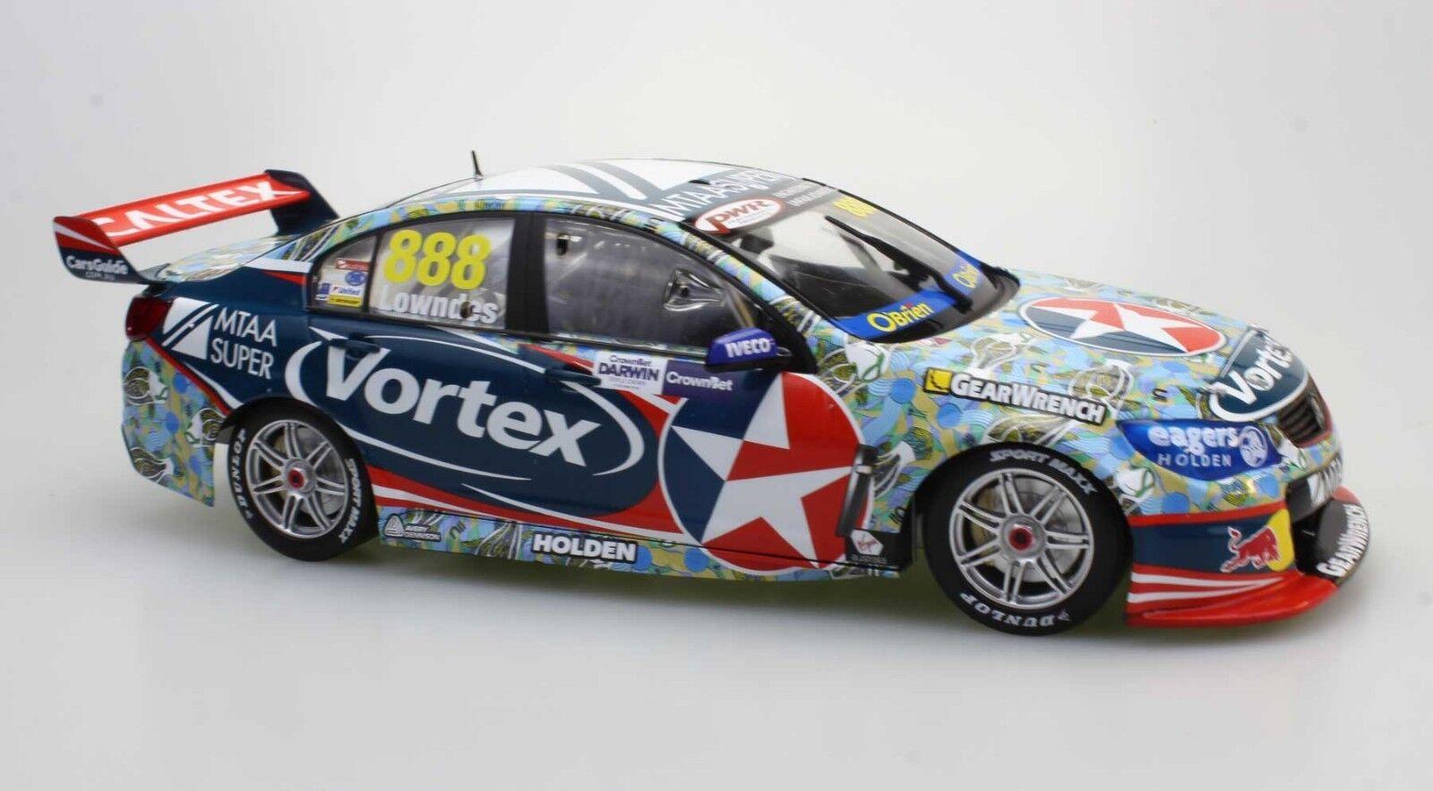 New Craig Lowndes 1 18 2016 Darwin Livery V8 Supercar Vortex Holden VF Commodore