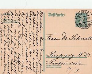 Postkarte-Deutsches-Reich-1927-verschickt-von-Berlin-Lichterfelde-nach-Leipzig