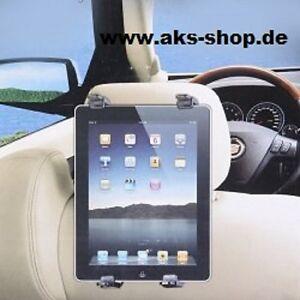KFZ-Tablet-Halterung-fuer-Apple-iPad-Air-2-Auto-PKW-Kopfstuetze-Media-Halter