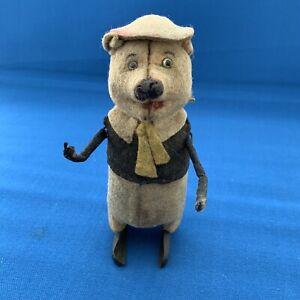 Vintage-Toy-Schuco-Clockwork-Pig