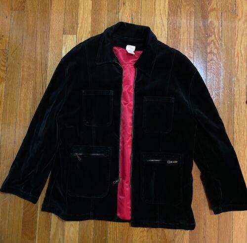 Vintage Todd Oldham Classic Velvet Jacket Mens Siz