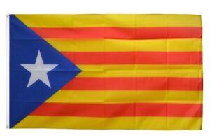 Katalonien Spanien Flagge Fahne Hißflagge Hißfahne 150 x 90 cm