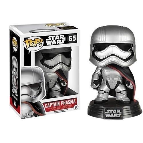 Star Wars The Force Awakens Captain Phasma  Pop Vinyl BobbleHead Figure Funko
