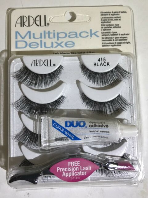 81b97f14b6d Multipack Deluxe Ardell 415 False Lashes Authentic Eyelashes Black ...