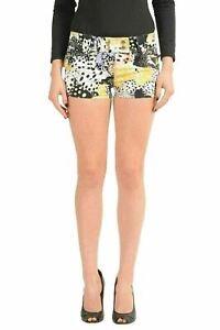 Just-Cavalli-Multi-Color-Denim-Women-039-s-Casual-Shorts-US-4-IT-26