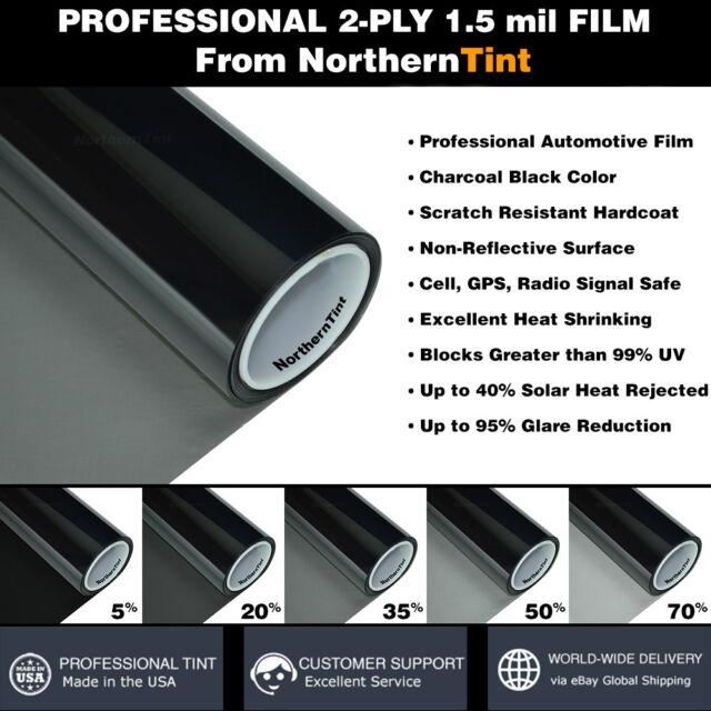 PreCut Window Film for Mercedes SLK230 98-04 Front Doors any Tint Shade