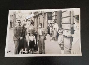 Foto-AK-STETTIN-Stadtleben-KINDER-GESCHAFTE-ZIGARREN-CIGARREN-1936