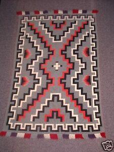 Rare Navajo Indian Rug Germantown