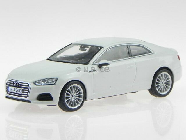 Audi A5 Coupe gletscher white diecast modelcar 5431 Spark 1 43
