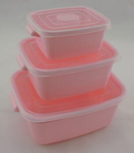 Box mit Ventil Aufbewahrungsbehälter Vorratsdosen Frischhaltedose 3tlg