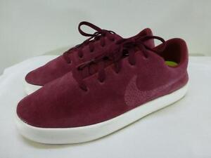 Nike Essentialist Suede Red Sail Lightweight Lunarlon Shoes 819811-661 mens 10
