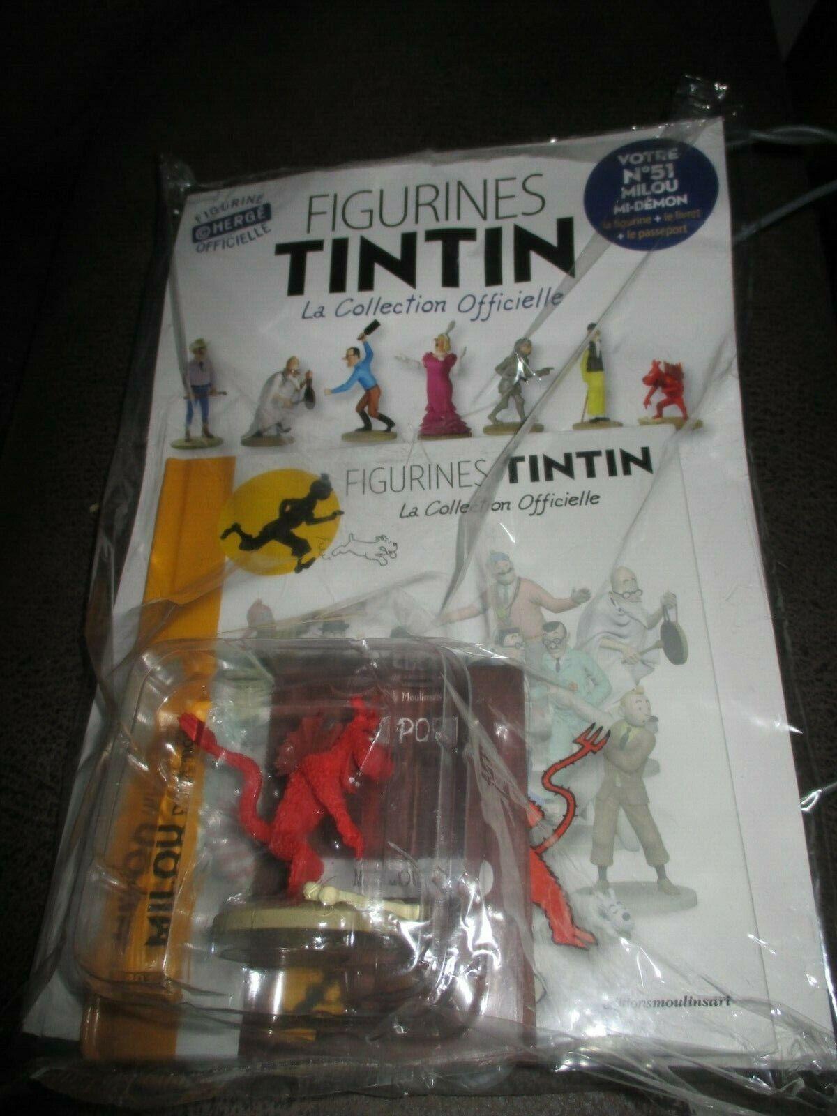 Hergé&Tintin-Statuette-Collection officielle-Milou démon(NO 51)sous cello
