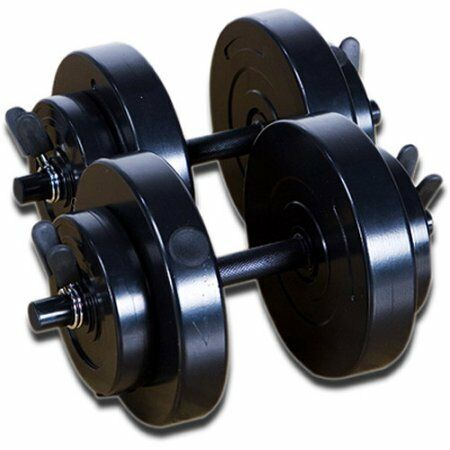 Marcy 40 lb Vinyl Dumbbell Set  VB-40 W