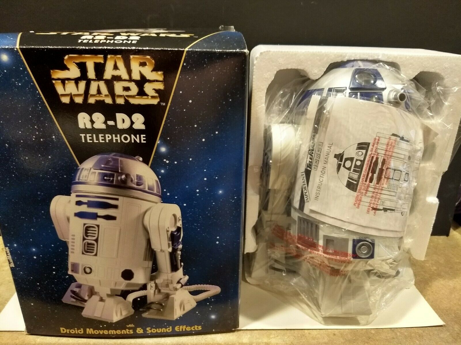 STAR WARS VINTAGE R2-D2 Telephone. 1997 Lucasfilm LTD. New in Box. Never Used.