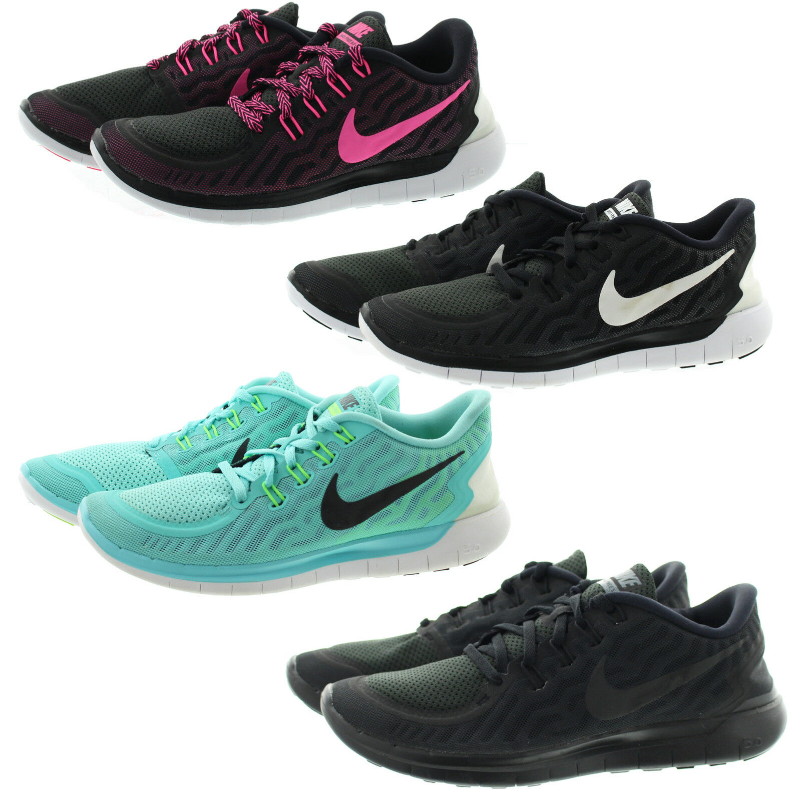 Nike 724383 Womens Free 5.0 Training Running Atheltic Low Top shoes Sneakers