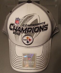 Image is loading New-Reebok-NFL-Steelers-Conference-Champions-2010-Hat- 1a61b9971
