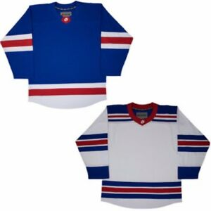 85a0ee1a3cf Firstar Hockey Jersey NEW YORK NHL Style Gamewear NO LOGO White or ...