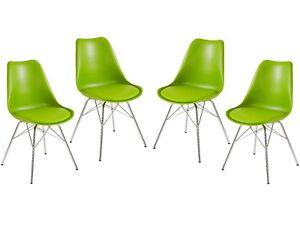 Sedie In Metallo Per Cucina : Sedia sala da pranzo schalenstuhl cucina metallo retrò design