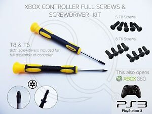 Details about XBOX ONE CONTROLLER T8 T8H T6 SECURITY TORX SCREWDRIVER  SCREWS 7MM HEX XBOX 360