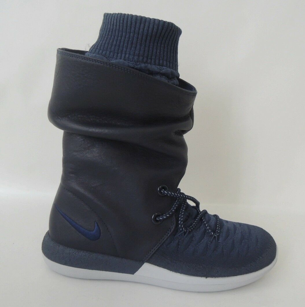 NEU Nike WMNS Roshe Two Hi Flyknit Gr. 38 Trail Stiefel Schuhe High-Top Boots