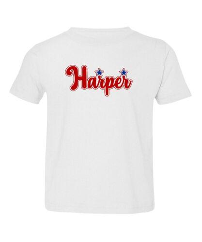 Philadelphia Phillies Bryce HARPER Baseball Fans Toddler T-shirt