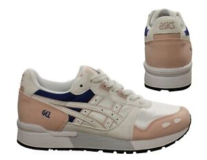 Details about Asics Gel-Lyte Womens Trainers Lace Up Running Training White  HY763 1701 B96D