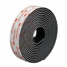 3M Dual Lock™ Fastener SJ3551 Self Adhesive Tape Black Heavy Duty 25.4mm x10