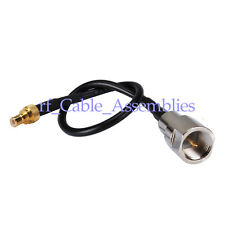 FME plug male to SMB plug male straight pigtail cable RG174 for GPS GSM WIFI